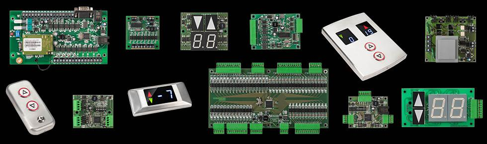 Jesteśmy producentem elektroniki i części dźwigowych